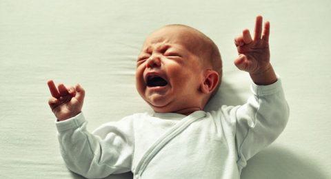 Neonato e dolori di pancia