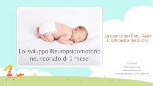 Osteopatia alla nascita
