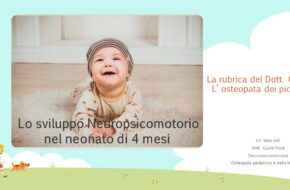 Lo Sviluppo Neuropsicomotorio in un bambino di 4 mesi
