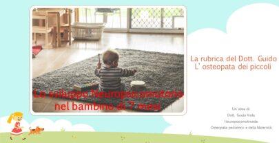Sviluppo Neuropsicomotorio nel bambino di 7 mesi