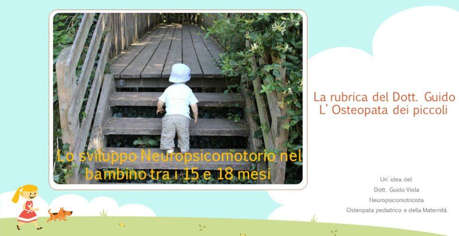 Sviluppo Neuropsicomotorio nel bambino di 15/18 mesi